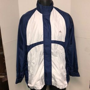 VTG Adidas Vented Golf Jacket Sz Large
